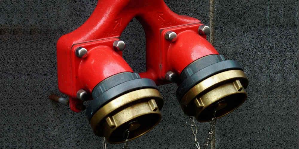 Abastecimiento de agua contra incendios en Canarias